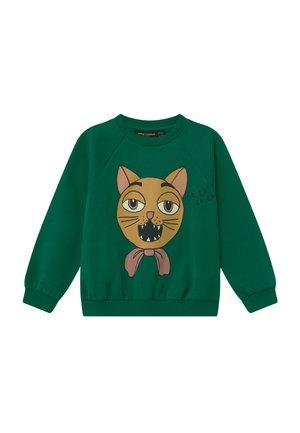 CAT CHOIR - Sweater - green