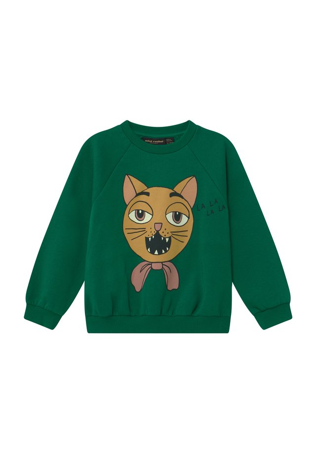 CAT CHOIR - Sweatshirt - green