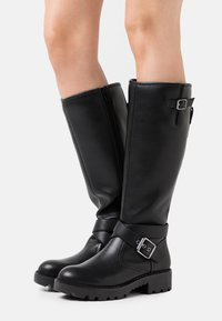 Buffalo - MARCOS - Cowboy/Biker boots - black - 0