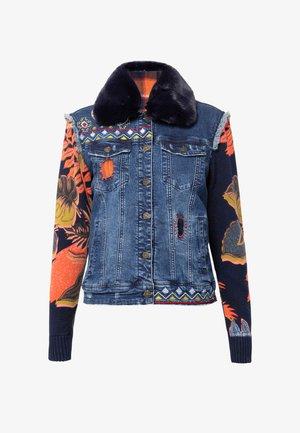 CHAQ_EXOTIC KEELER - Denim jacket - blue