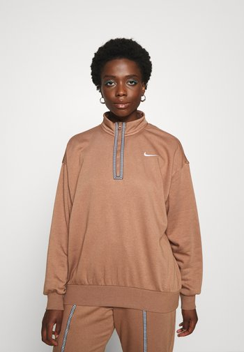 Sweater - archaeo brown/(white)