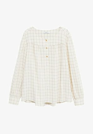 Blouse - cremeweiß