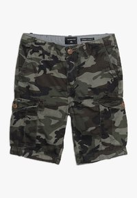Quiksilver - CRUCIAL BATTLE YOUTH - Cargo trousers - green - 0