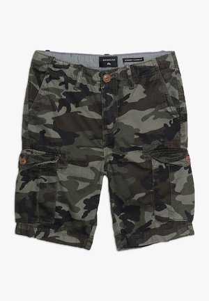 CRUCIAL BATTLE YOUTH - Pantalones cargo - green