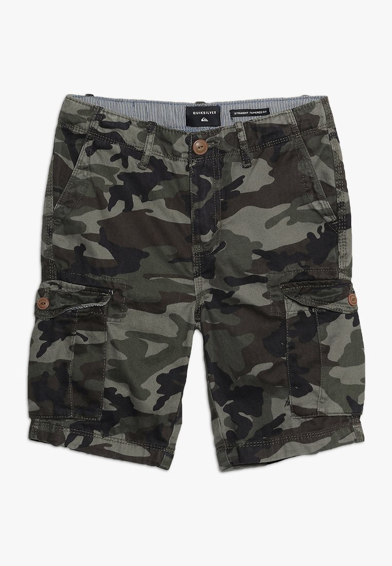 Quiksilver - CRUCIAL BATTLE YOUTH - Cargo trousers - green