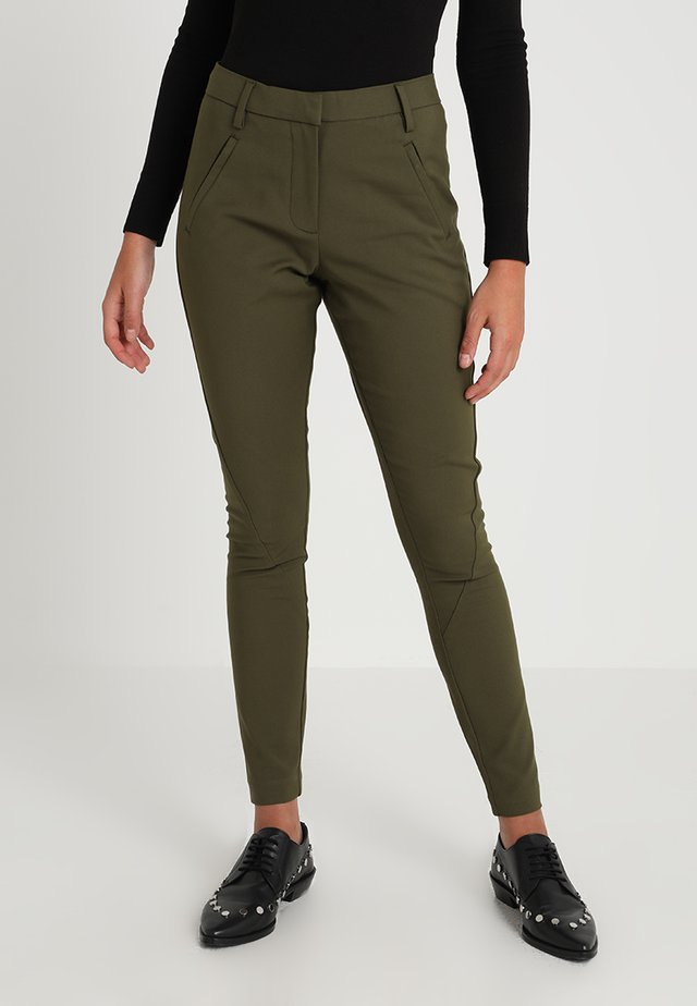 ANGELIE - Trousers - army
