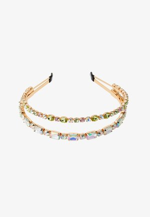 PCSTONY HAIRBAND - Hårstyling-accessories - gold-coloured/multi-coloured