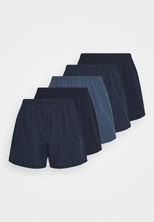 5 PACK - Boksershorts - dark blue/blue