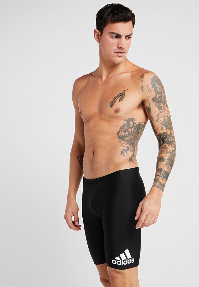 FIT JAM - Swimming trunks - black/white