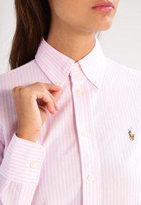 Polo Ralph Lauren - HEIDI - Button-down blouse - carmel pink/white - 3