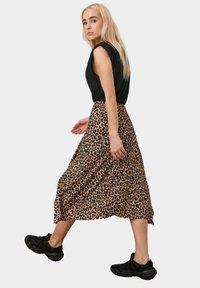Trendyol - A-line skirt - brown - 2