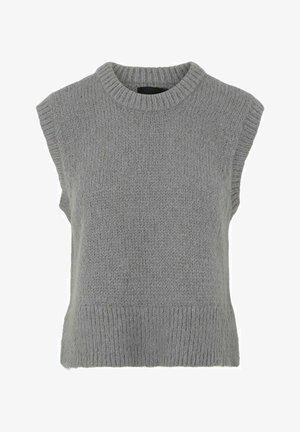 PCGRETA SL O NECK  - Jumper - medium grey melange
