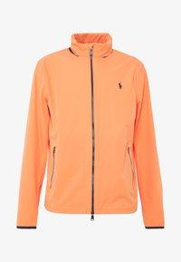 Polo Ralph Lauren Golf - HOOD ANORAK JACKET - Waterproof jacket - true orange - 4