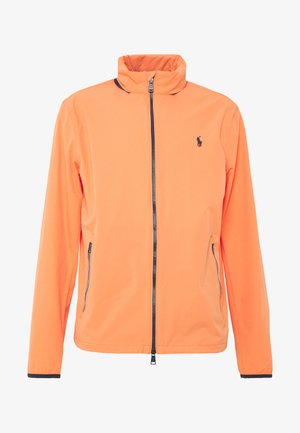 HOOD ANORAK JACKET - Regnjakke / vandafvisende jakker - true orange