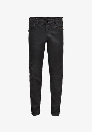 CITISHIELD 3D SLIM ORIGINALS - Slim fit jeans - waxed black cobler wp