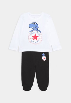 STAR TEE SET - Pantalon de survêtement - white