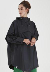 ICHI - IHTAZI  - Waterproof jacket - dark navy - 0