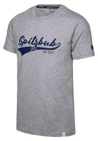Spitzbub - JULIUS - Print T-shirt - grey - 3