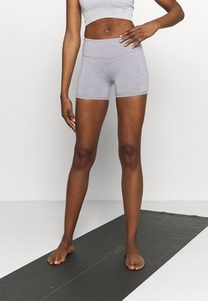 HIGHWAISTED SHORTIE - Tights - charcoal marle