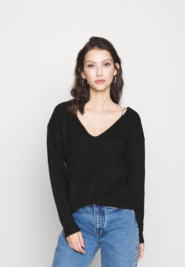 PCBABETT  - Sweter - black