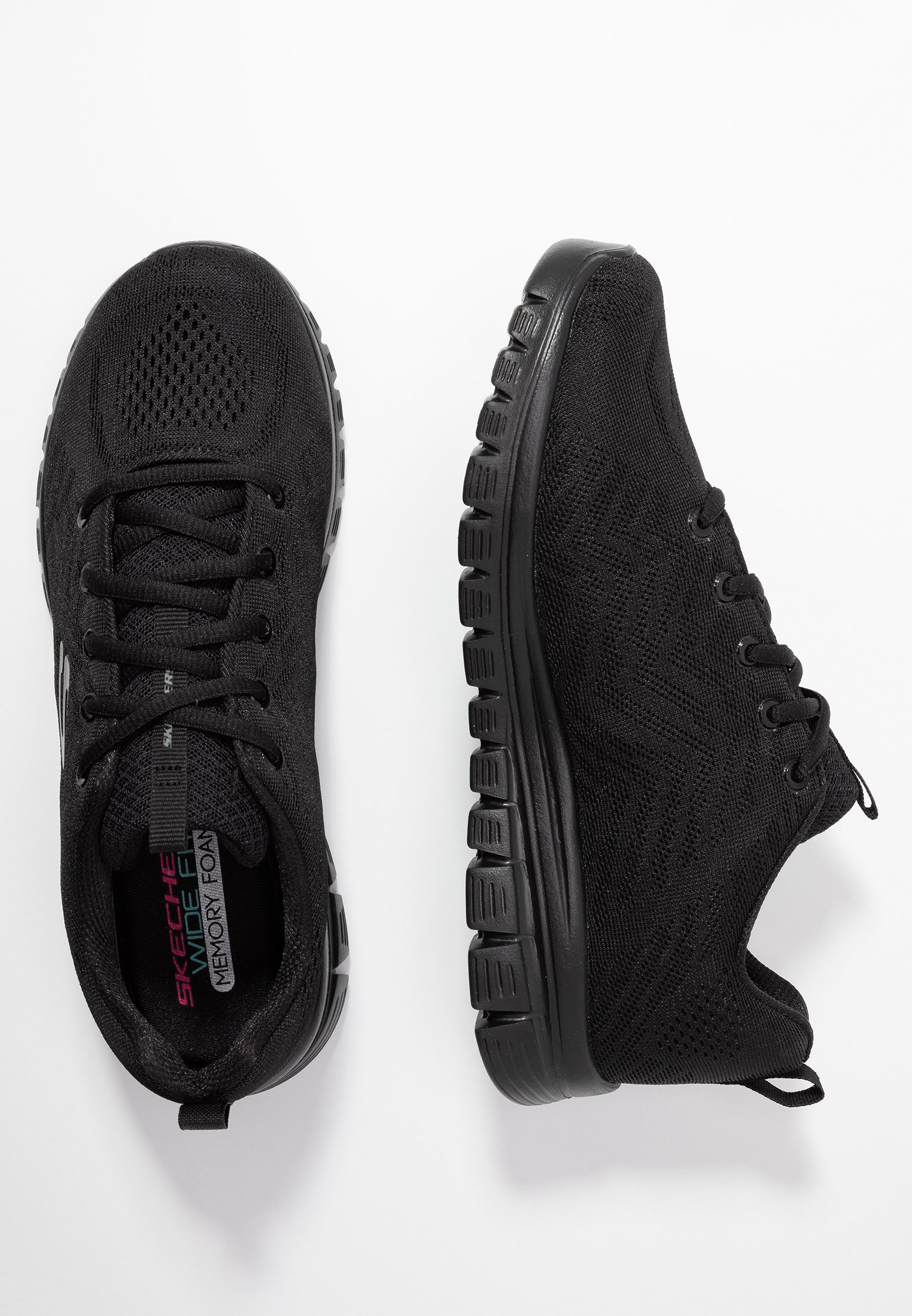 GRACEFUL WIDE FIT Sneakers black