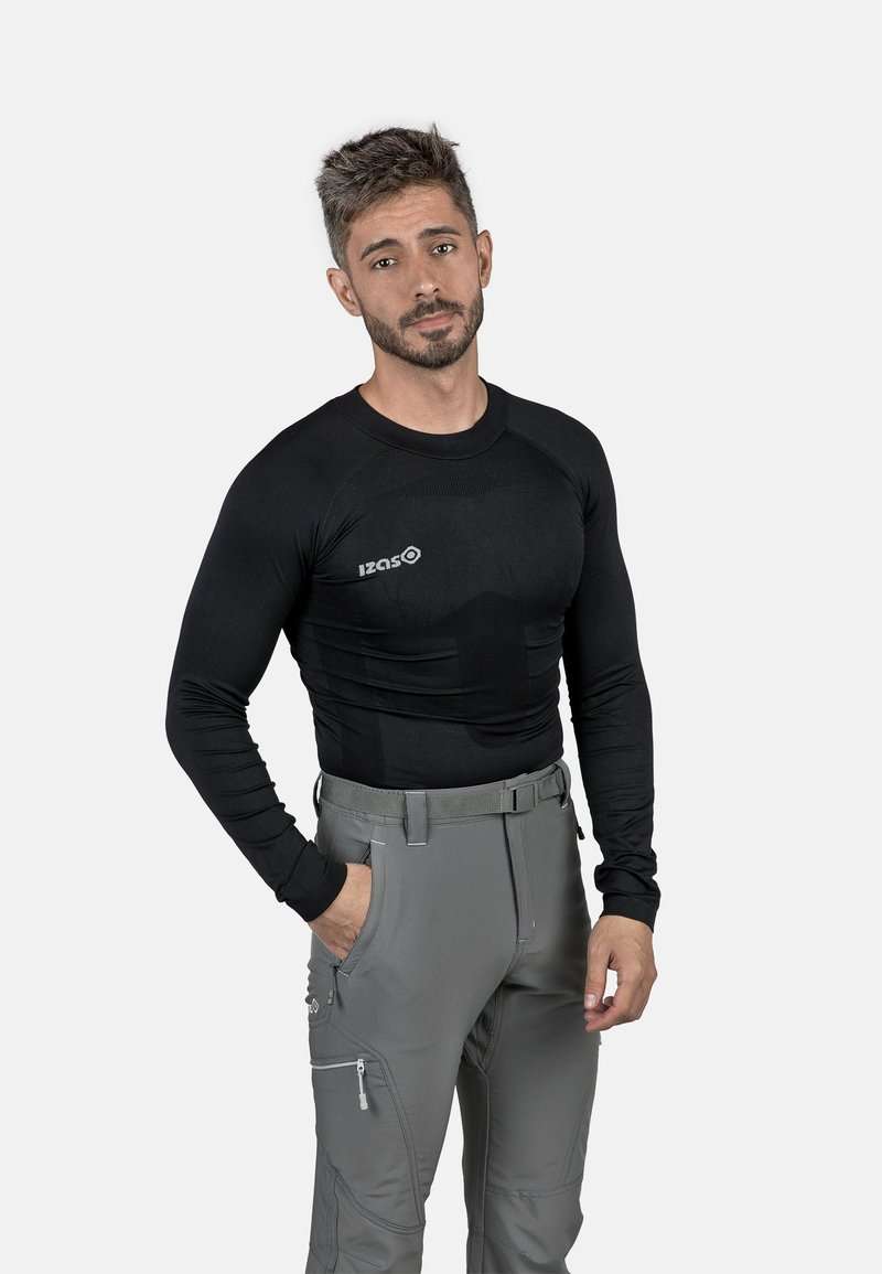 IZAS - SAREK - Sports shirt - black