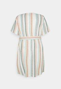 ONLY Carmakoma - CARSTACYI KNEE DRESS - Day dress - desert sage/multi - 1