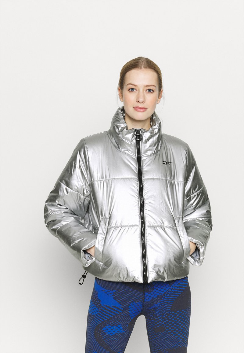 Reebok - PUFF - Winter jacket - silver