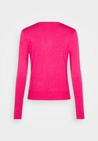 Marks & Spencer London - CREW CARDI PLAIN - Cardigan - medium pink - 1