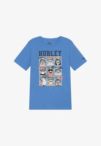 Hurley - CLASS  - Print T-shirt - light blue - 2