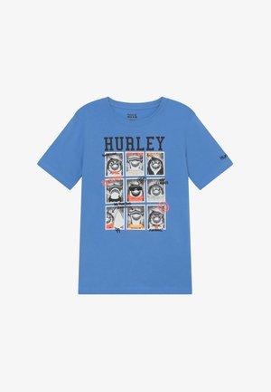 CLASS  - Print T-shirt - light blue