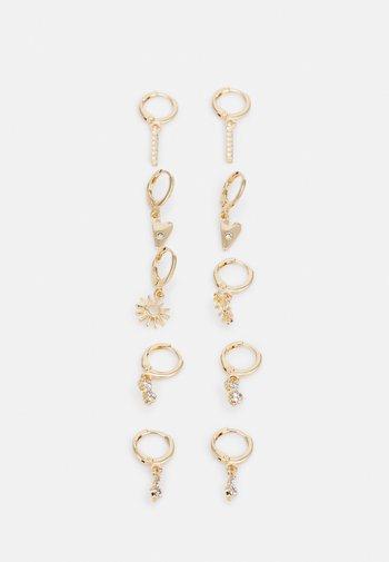 FGSALLINA EARRINGS 5 PACK - Earrings - gold-coloured