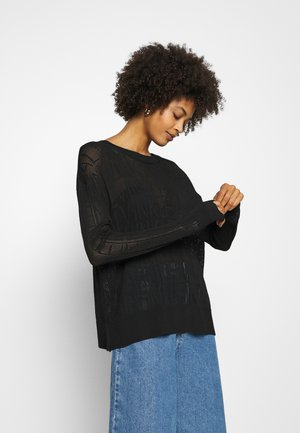 RELAXED - Jumper - black