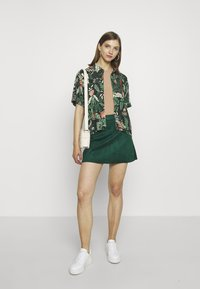 ONLY - ONLLINEA BONDED - A-line skirt - pine grove - 1