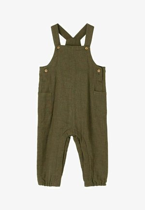 Dungarees - ivy green