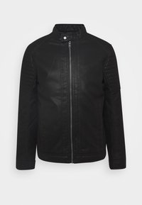 TOM TAILOR - Faux leather jacket - black - 4
