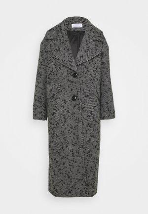 VERSION - Classic coat - black/white