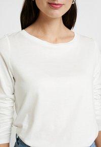 Q/S designed by - Camiseta de manga larga - ecru - 5