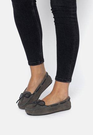 CALLY - Półbuty wsuwane - gray