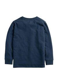 Next - Long sleeved top - mottled blue - 1
