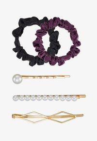 Anna Field - SET-5 PACK - Příslušenství kvlasovému stylingu - black/purple - 3