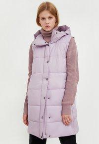Finn Flare - Waistcoat - lilac - 0