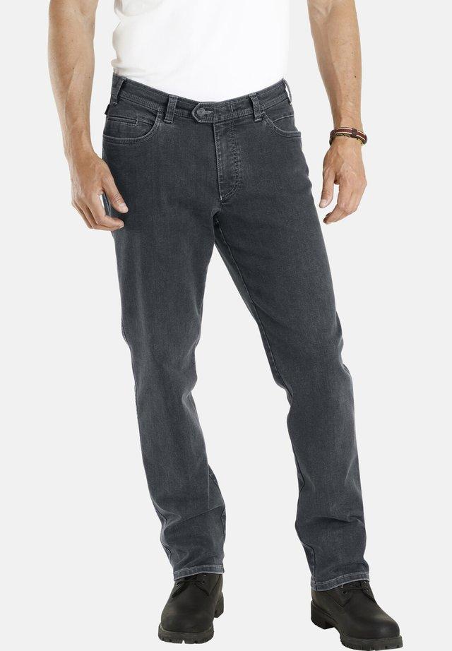 CORTIE - Straight leg jeans - dunkelgrau