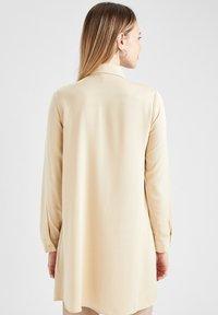 DeFacto - Button-down blouse - beige - 2