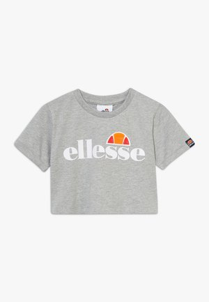 NICKY - Print T-shirt - grey marl