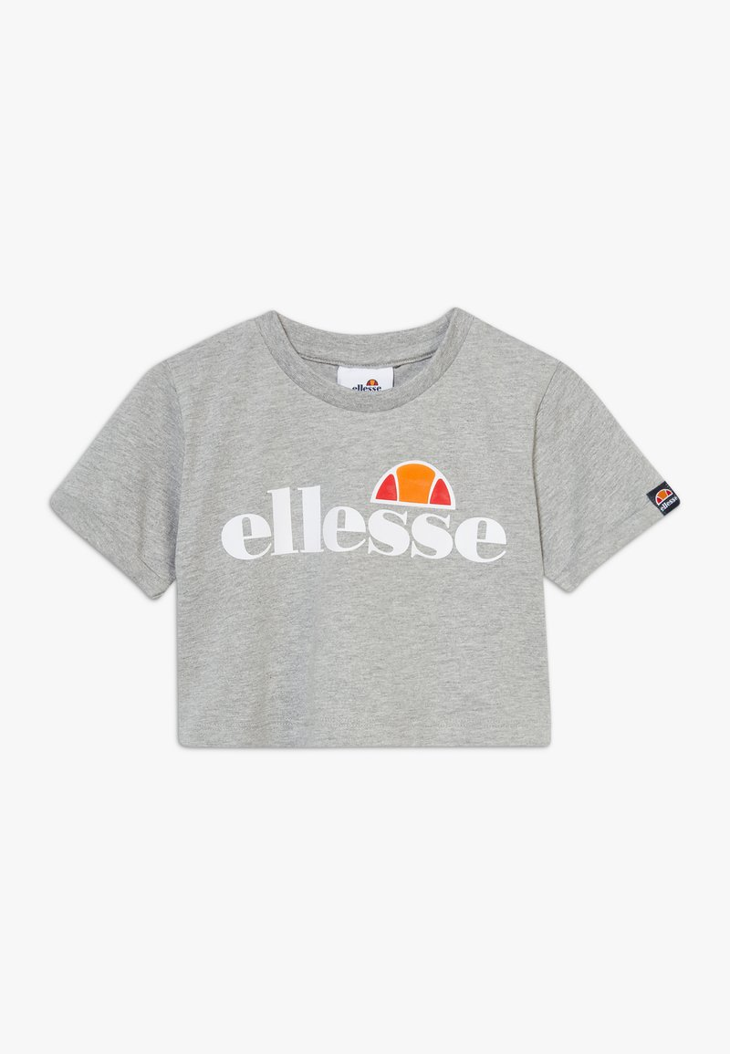 Ellesse - NICKY - T-shirt print - grey marl