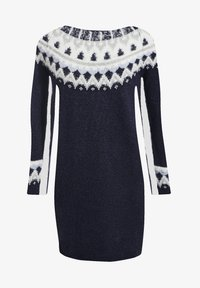 Cache Cache - GERADES - Jumper dress - bleu marine - 4
