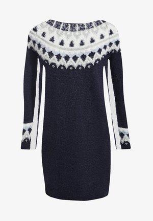 GERADES - Jumper dress - bleu marine
