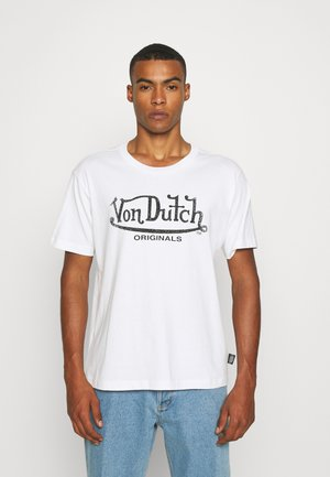 LENNON LOGO TEE - T-shirt print - white