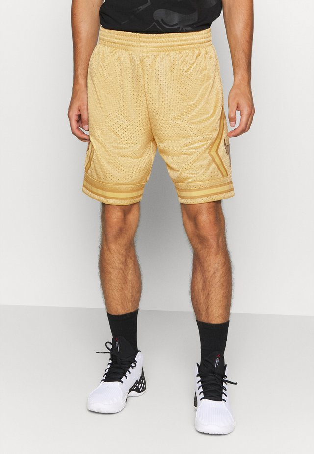 NBA CHICAGO BULLS MIDAS SWINGMAN SHORT - Sports shorts - metallic gold
